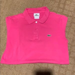 Lacoste short sleeve shirt great condition size 38